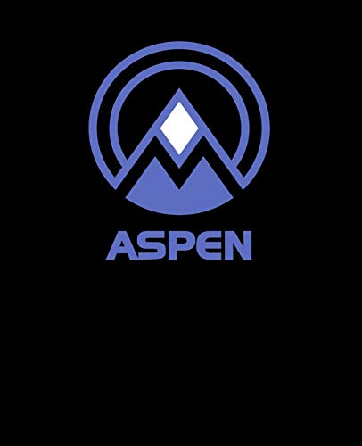 Aspen: Colorado Notebook With Lined Wide Ruled White Paper For Work, Home or School. Note Book Composition Journal For Skiing And Snowboarding Fans. Back To School Note Pad For Adults & Kids.