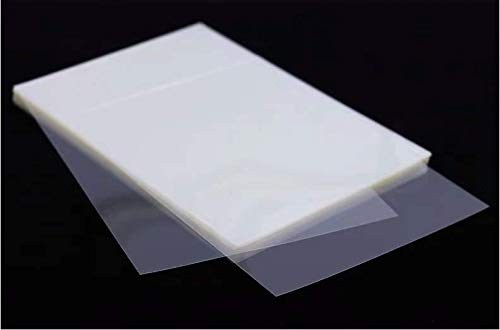 Amcho Siebdruckfolie, 50 Inkjet Transparent für Siebdruck, milchig weiße wasserdichte Folie für Siebdruck