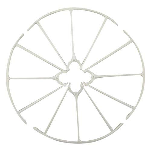 4 Stücke Drohne Schutzrahmen Schutzhülle Ersatzteie für X5HW X5HC SYMA - Weiß