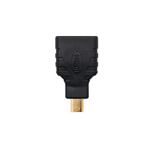 Nanocable 10.15.1206 - HDMI zu Micro HDMI Adapter, A/H-D/M, weiblich-männlich, schwarz