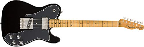 Squier by Fender Classic Vibe 70's Telecaster Guitarra Eléctrica Personalizada - Arce - Negro