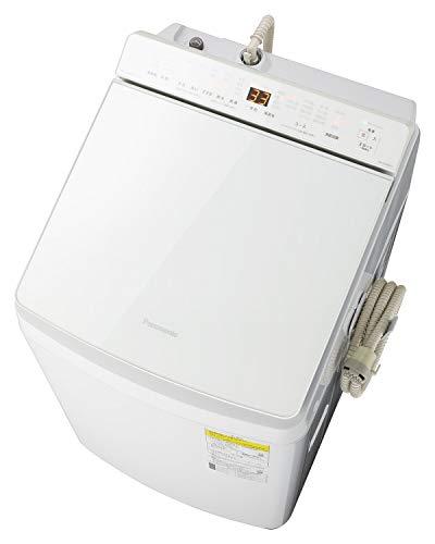 パナソニック 8kg 洗濯乾燥機 泡洗浄 ホワイト NA-FW80K7-W