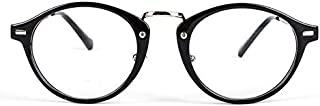 Unisex Clear Lens Eyewear Restore ancient round Eyeglasses