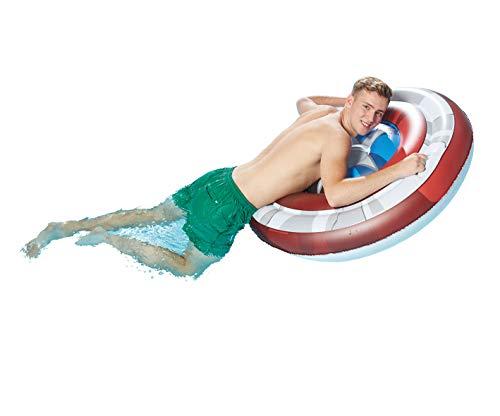 Lively Moments Floater / Luftmatratze / Surfboard / Surfrider Marvel Captain Americas Schild ca. 108 x 19 cm