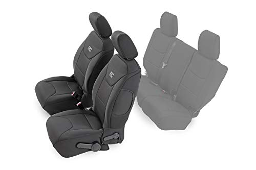 Rough Country Neoprene Front Seat Covers for...