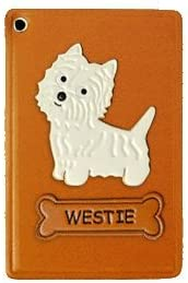 Westie gift Leather Pass ID Credit Handmade in Card Holder outlet CaseVANCA