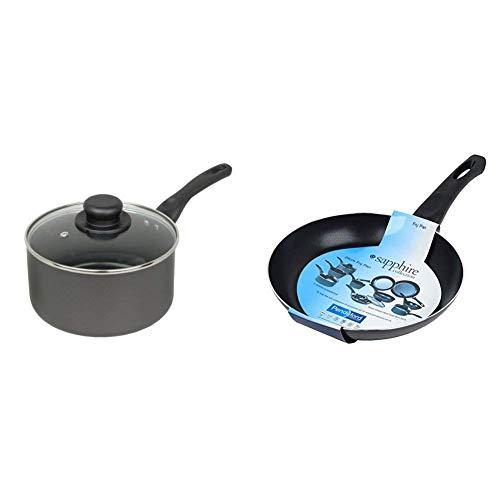 Sapphire Collection 15 cm Non Stick Sauce Pan & Collection 20 cm Non Stick Fry Pan