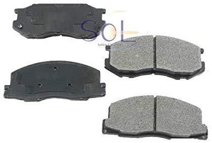 ニッサン キューブ(BNZ11 BZ11 YGNZ11 YGZ11 YZ11) キューブキュービック(BGZ11) ウィングロード(NY12 Y12 JY12) フロント ブレーキパッド 左右セット 41060-AX085 AY040-NS110