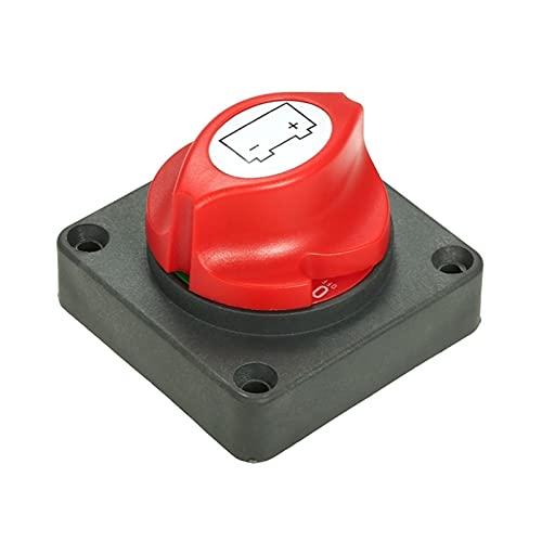 CMEI Aislador maestro de batería 600A Cortar el interruptor de matanza del automóvil Marine CAMIONETA Camión (Color : Black)