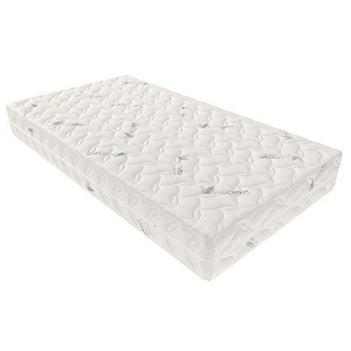 Inter Aloevera matras Aloevera-Visco, 100% polyester, 140x200 cm
