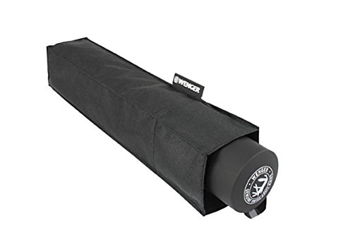 Wenger Regenschirm Manueller Taschenschirm (Schwarz) W1103