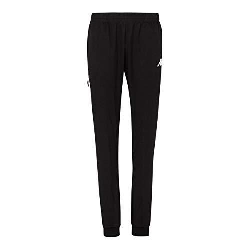 Kappa Chieta – Pantaloni Lunghi da Donna, Donna, Pantaloni Lunghi, 304TPI0, Nero, XL