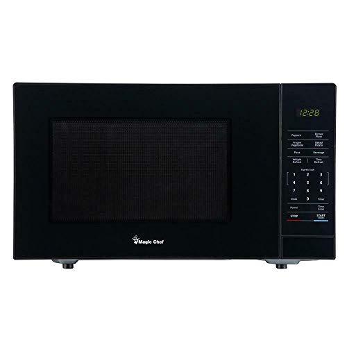 Magic Chef HMM1110B 1.1 cu. ft. Countertop Microwave, Black