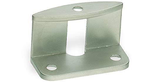 Griffadapter für Faltschiebetüren für 16 mm Türstärken, oval