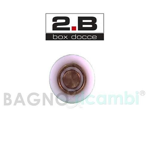 Generico Ricambio Ruota Cuscinetto Rotella Perno Corto per Box Doccia 2b NA0701