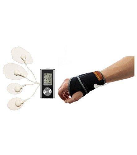 HealthmateForever Electroestimulacion 6 modos Smart dolor alivio electroterapia aparato plata