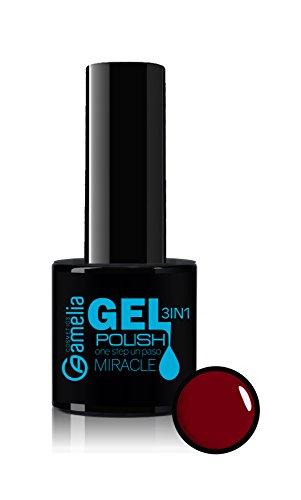Amelia Cosmetics Esmalte Gel Uñas 3 1 Color Rojo