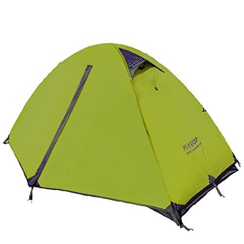 Azarxis 1 Persona/PostoTenda da Campeggio 3 Stagioni, Tenda Parasole Ultraleggera da Montagna Spiaggia Trekking Escursionismo (Verde - 1 Persona)