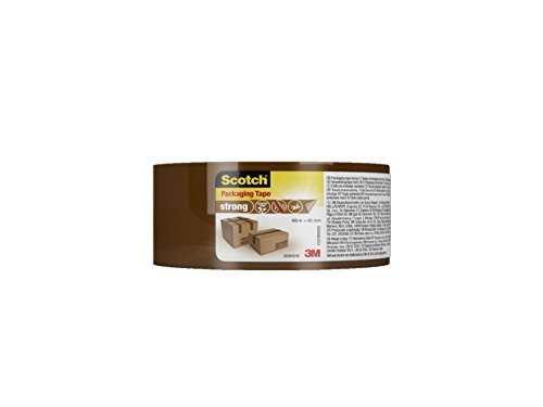 Scotch 4501B6648 66 m x 48 mm Strong Packaging Tape - Brown