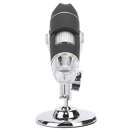 Mikroskop, kleines tragbares Elektronenmikroskop, 500X USB hochauflösende Kamera, Video, Computer für Profis Mobile Connection Kids, Amateure