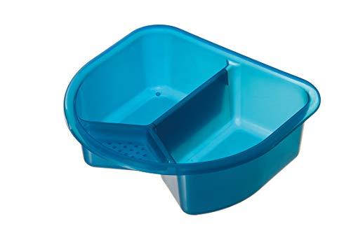 Rotho Babydesign Bassine, 4l, À partir de 0 mois, TOP, Bleu Translucide, 200060209