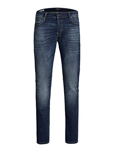 JACK & JONES Herren JJIGLENN JJORIGINAL GE 338 50SPS Hose, Blue Denim, 30/32