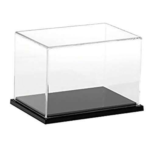 non-brand Caja Vitrina de Acrílico Transparente para Exhibición de Figuras Modelo Anime Juguete - 25 x 15 x 15cm