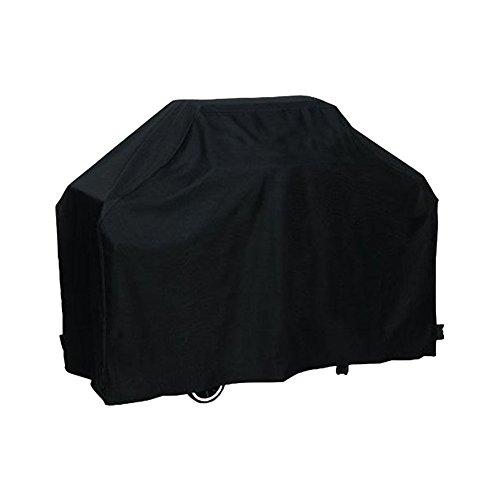 Basong Funda para Barbacoa Rectangular Impermeable Cubierta Protectora de Polvo Lluvia Solar para Sofá Sillas de Exterior 170*61*117cm Color Negro