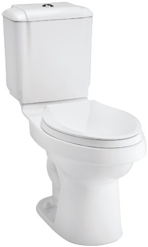 STERLING 402088-0 Rockton 12-Inch Rough-in Elongated Toilet,...
