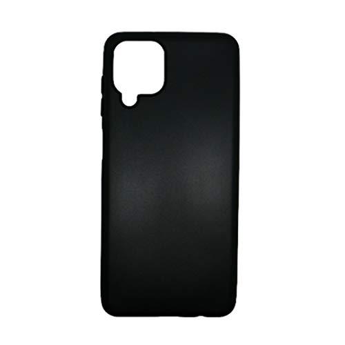 Mb Accesorios Funda Carcasa Gel Negra para Samsung Galaxy A12, Ultra Fina...