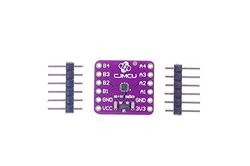 WINGONEER TXB0104 4-Bit Bidirectional Voltage-Level Translator with Automatic Direction Sensing and ?15-kV ESD Protection