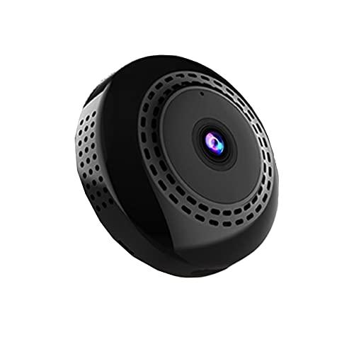 SXTYRL Telecamera Spia, Portatile, Spy Fotocamera, Visualizzazione Grandangolare, Nascosta Videocamera, per Ufficio Videosorveglianza, Allarme (Color : Black, Size : 0G)