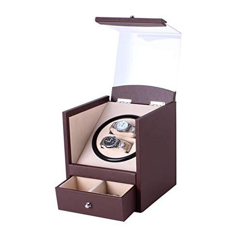 JHSHENGSHI Enrollador de Reloj, Dispositivo de Mesa agitadora, Caja de Reloj vibradora,...
