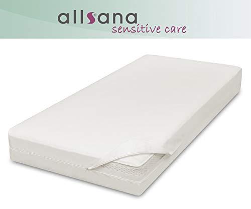 allsana Allergiker Matratzenbezug 90x200x24 cm Allergie Bettwäsche Anti Milben Encasing Milbenschutz für Hausstauballergiker