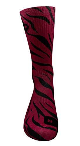 Zapatillas deportivas Rosa Calcetines con Diseño Motivo Hecho a Mano Calcetines de impresión 3D para Baloncesto Voleibol Tenis Fitness Golf Ciclismo Respirable Coolmax Calcetines deportivos (43-46)