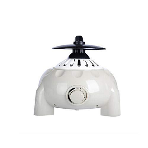 asciugatrice Elettrica Portatile Piccola 1200w può Essere Temporizzata 30min-180min Basso Rumore Host Universale Facile da Riporre E Conservare, Bianco