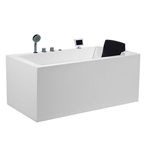 ARIEL Platinum PW1545930LW1 Whirlpool Bathtub 59