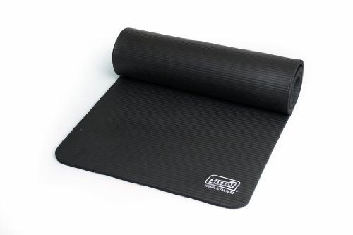 Sissel Gym, Materassino Unisex – Adulto, Antracite, 180 x 60 x 1.5 cm