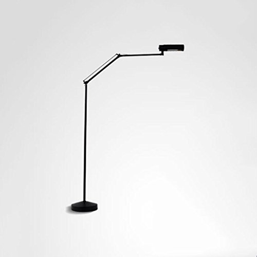 Staande lamp 8 W LED lees- en vloerlamp - dimmer full range LED-lampen - Foldable Retractable E27 LED