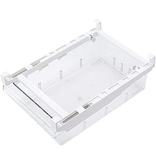 Kühlschrank Organizer Schublade, Einziehbare Küche Mit Ausziehbaren Schubladen, Verstellbare Kühlschrank, Aufbewahrungsbox Kühlschrankbox (1 Gitter)