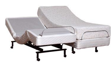 Split King Size Leggett & Platt S-Cape Adjustable Beds