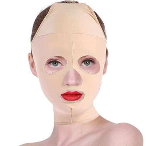 Lifting Visage Minceur Masque Visage Full Coverage Bandage Réduire Facial Double Menton Soins Perte De Poids Beauté Ceinture(S,M,L,XL) (Size : XL)
