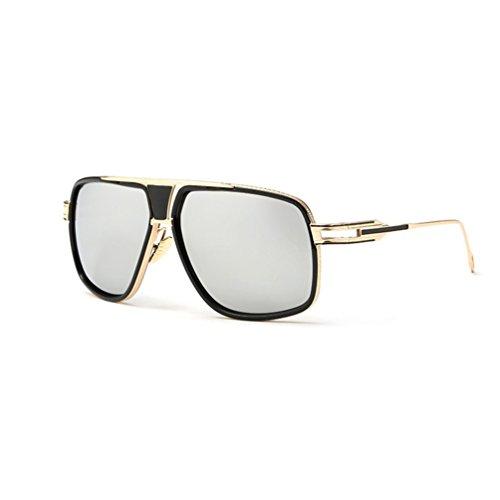 Tansle Gafas de sol de lujo para mujer, montura dorada, cómoda almohadilla para la nariz, joyería de ojos, lente de 62 mm