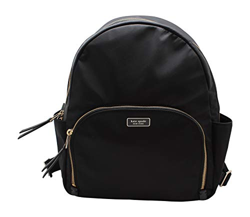Kate Spade Dawn Large Backpack Bag Nylon (Black)