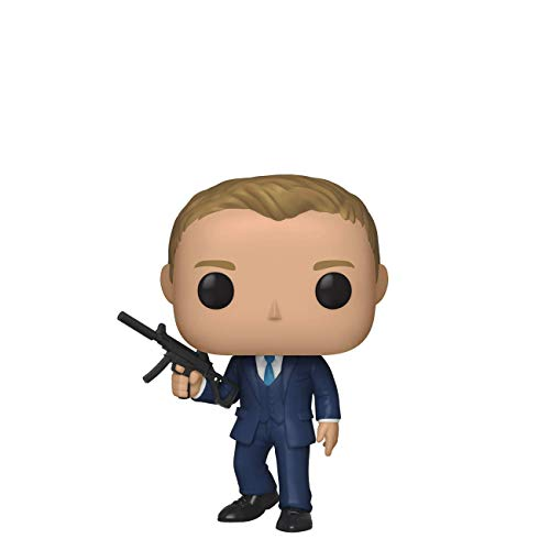 FunKo Pop! Films: James Bond - Daniel Craig (Quantum of Solace), Multicolore