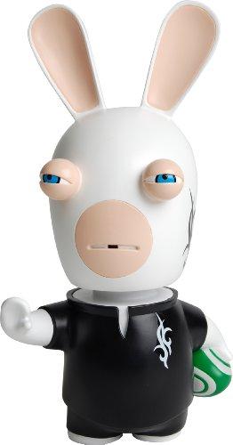 Desconocido Polymark Toys LAP5503 - Figura con Cabeza móvil Raving Rabbids (LAP5503) - Rabbids Rugby Cabezon (21cm), Figura Videojuego