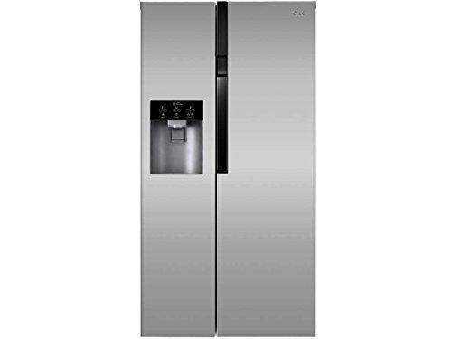 LG GS 9366 PZYVL Side by Side / Kühl-Gefrier-Kombination / A+ / Eiswürfel- & Wasserspender / 179cm / 614 L (405 l Kühlen; 209 l Gefrieren) / Total No-Frost /ohne Festwasseranschluss