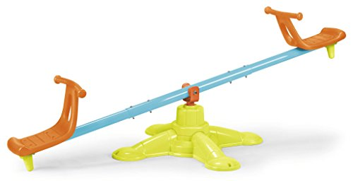 FEBER See Saw 2x1 - Balançoire de jardin 2 places, pour enfants de 3 à 6 ans (Famosa 800010243)