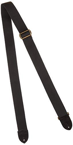 Fender Sangle 5cm Cotton/Leather black