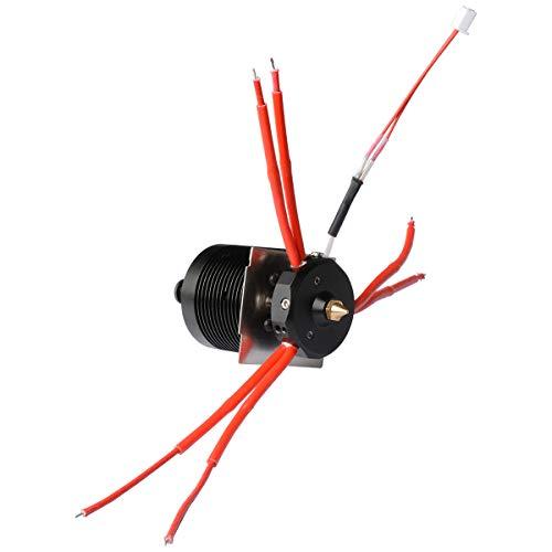 GIANTARM 3D Drucker zubeh?r Mix-Color Extruder 3 in 1 out Hotend f¨¹r A10T A20T, Hotend Kit f¨¹r 0,4 mm, 1,75 mm¡